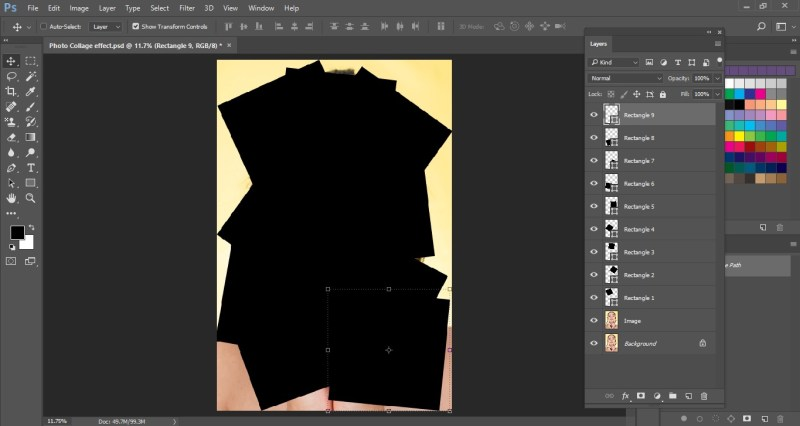 Create more square shapes