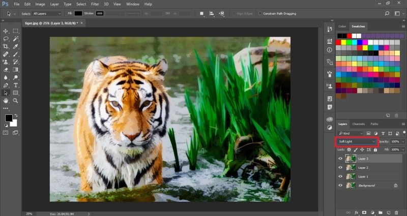 Painting Effect in Photoshop