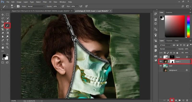 Create a Layer Mask