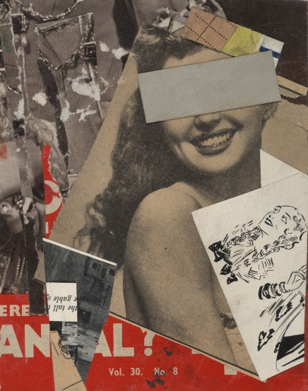 Wow, too much text! Here's a picture interlude of something that visually inspired me. This is by Dadaist artist Kurt Schwitters, Carnival, 1947. Dadaist art is a response to the horrors and illogic of war. Header image is Dadaist-inspired graphic design by Jack Deane, student of Manchester Metropolitan U.