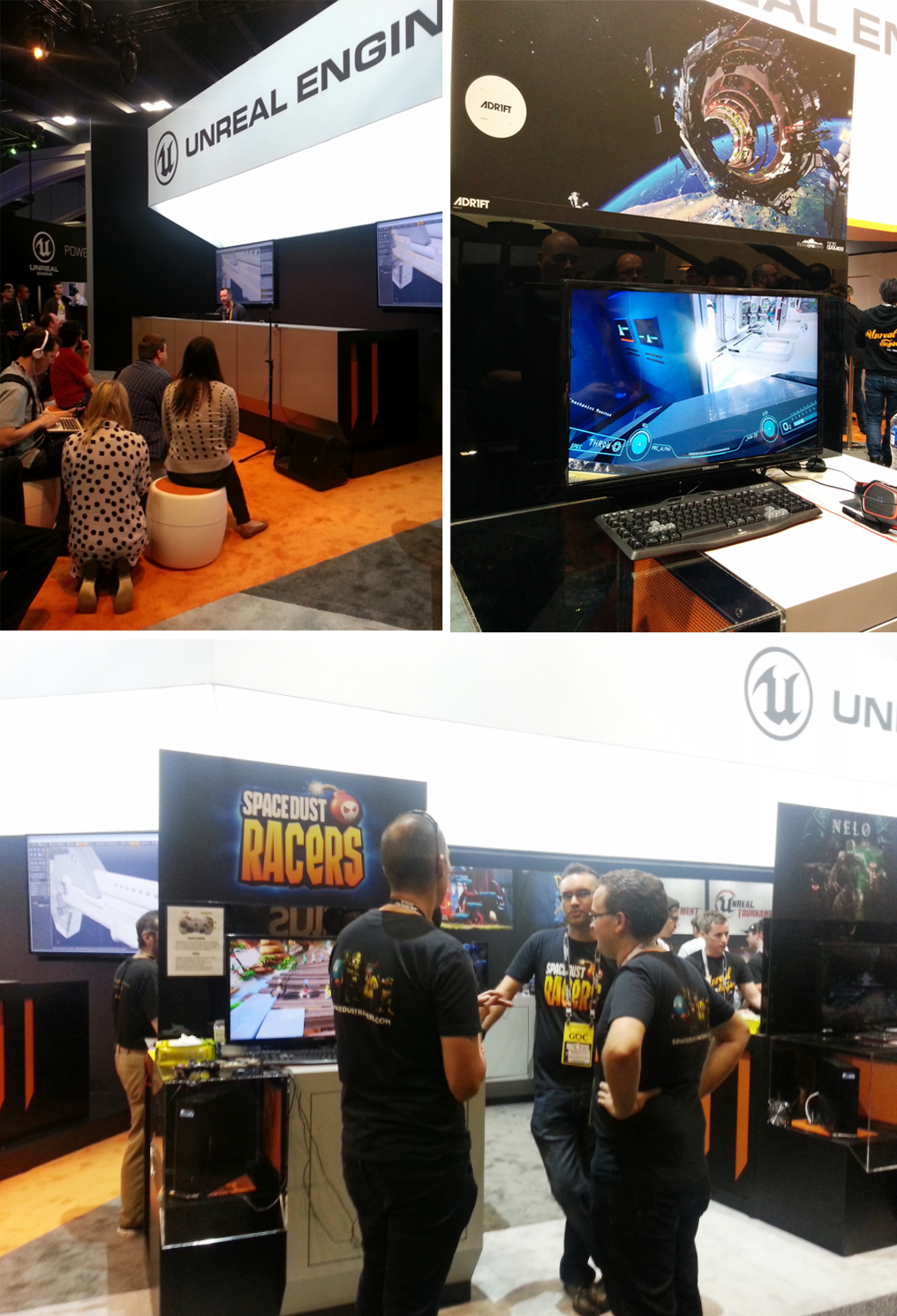 Unreal Engine booth at GDC 2015