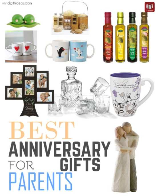 Ideas For Parents Wedding Gifts: Best Anniversary Gifts For Parents