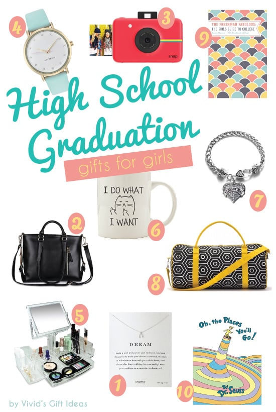 2016 High School Graduation Gift Ideas for Girls - Vivid's