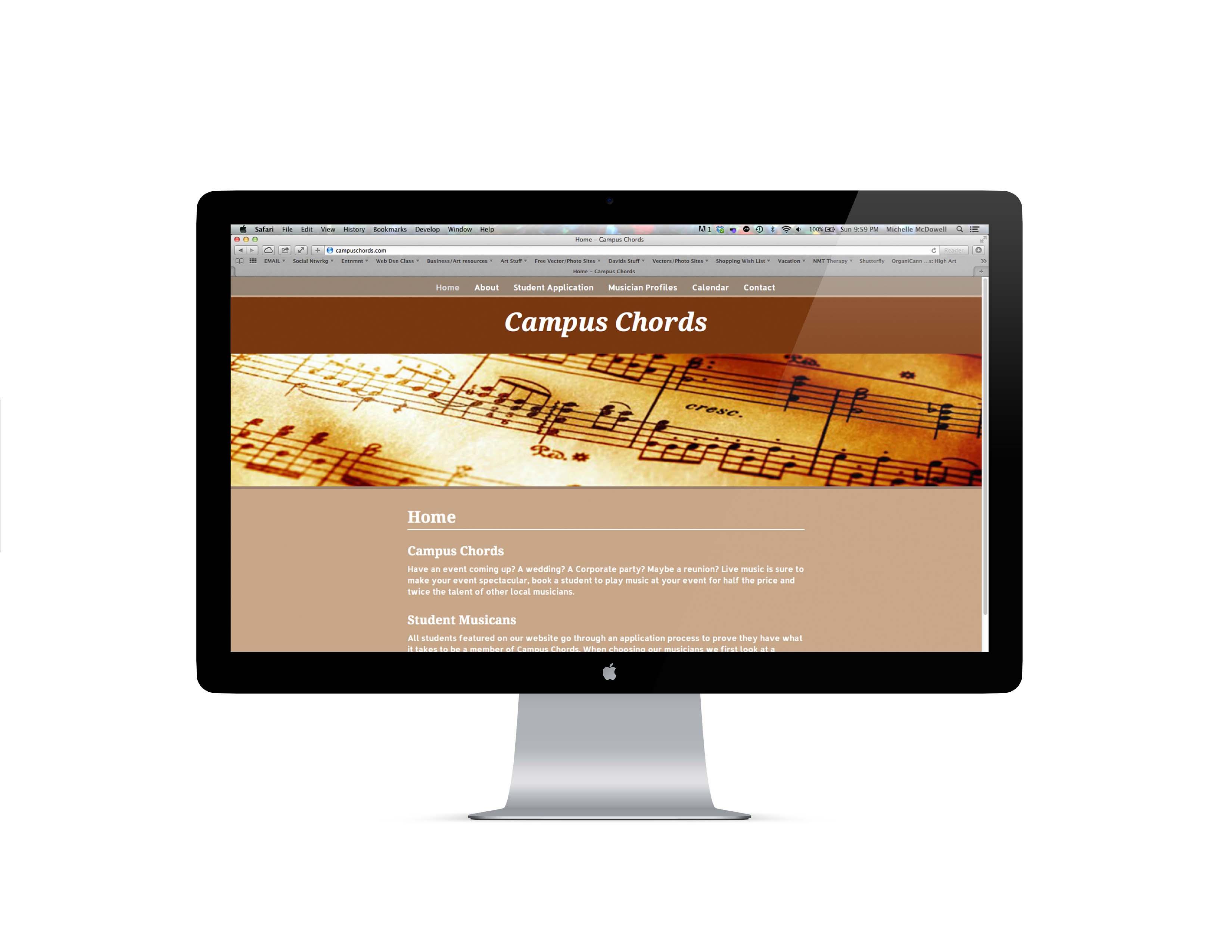 Campus Chords Website