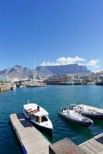 Table Mountain View from V&A Waterfront