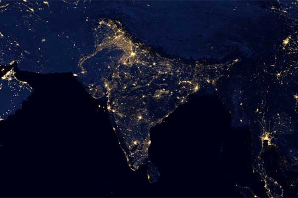 NASA released some of the most spectacular nighttime views of the Earth ever seen from space.