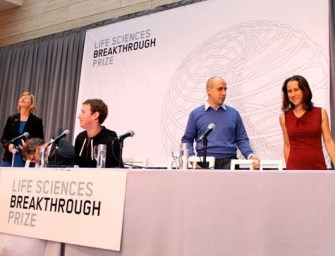 Mark Zuckerberg, Sergey Brin, & Yuri Milner launch $33M 'Breakthrough Prize' in life   sciences