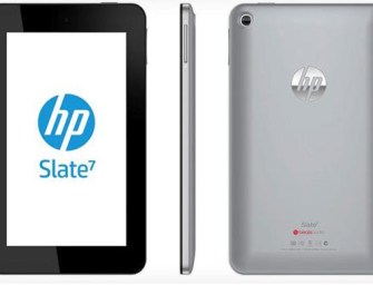 HP Announced Its First Android Tablet: The HP Slate 7