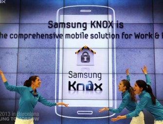 Samsung unveils Samsung KNOX for secure BYOD