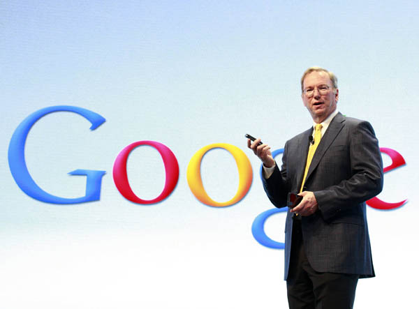 Eric Schmidt Google Executive Chairman