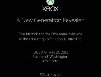 Microsoft Invites Media For Next Xbox Reveal Event