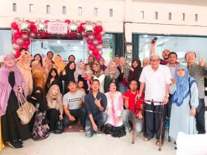 owner kedai upu bersama blogger dan influencer pekanbaru