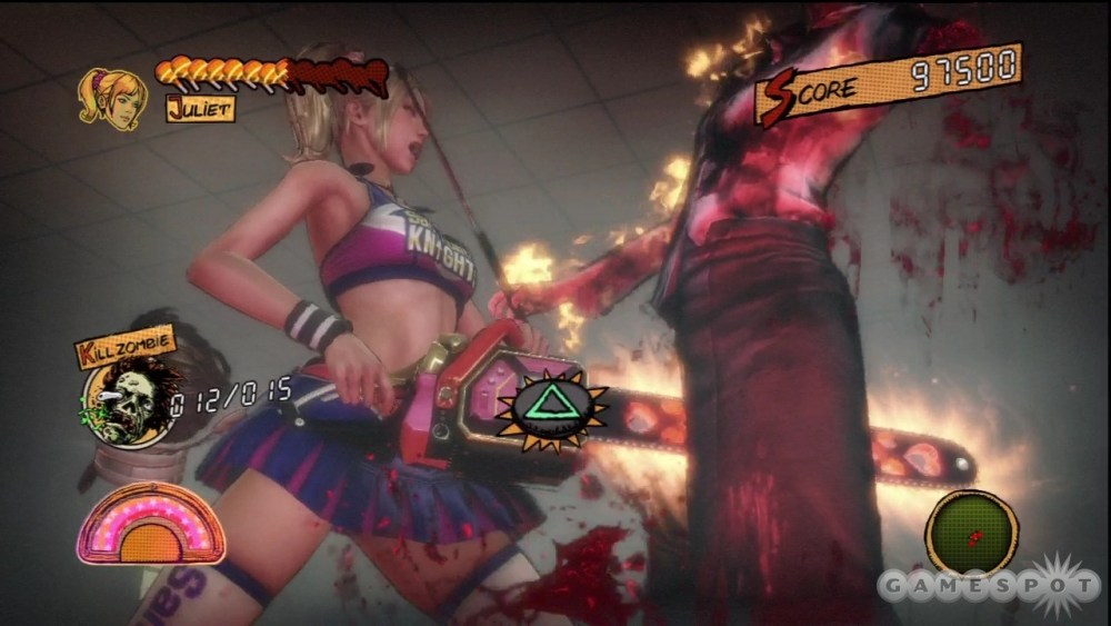 Zombis, piruletas y ¡acción! - Lollipop Chainsaw (2/6)