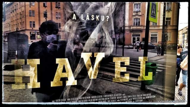 afiche película Havel