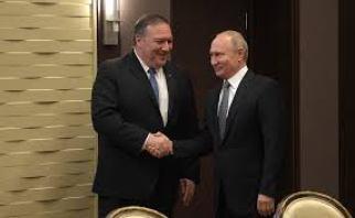 Pompeo Putin