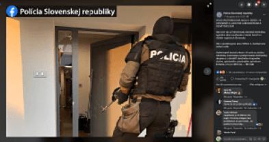 NAKA Eslovaquia agencia policial