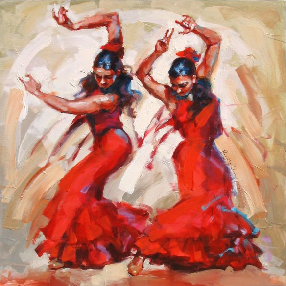 flamenco_dancers_by_renatadomagalska