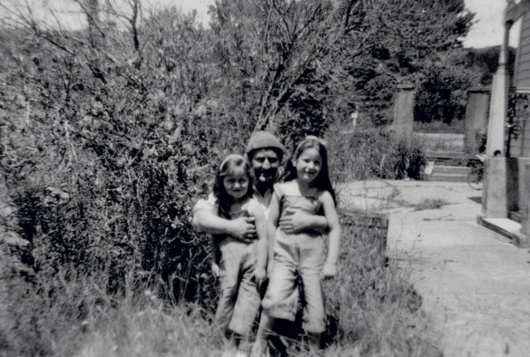 Fig 7. Jack and girls in 'garden' copy
