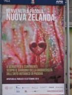 Padua welcomes NZ (at the botanic gardens)