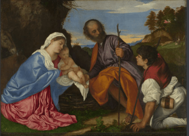 Titian Holy Family