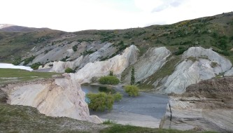 St Bathans gold tailings