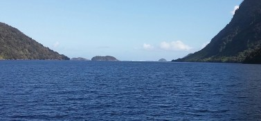 Doubtful Sound - sea entrance