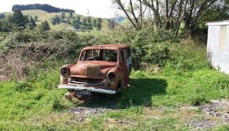 Rusty vehicle