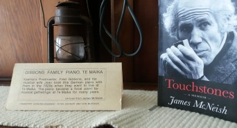 Piano label & James McNeish book