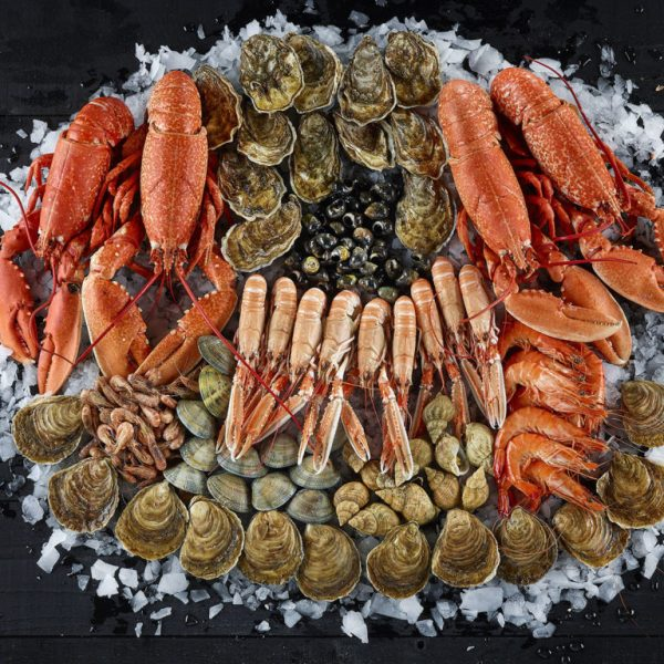 plateau de fruits de mer 4 personnes