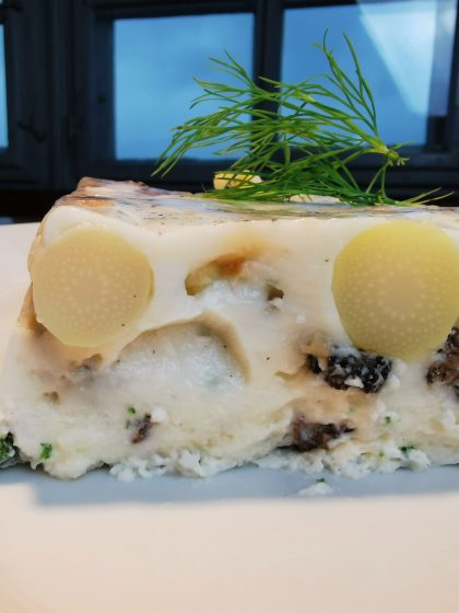 Morchel Terrine