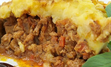 Pasticcio di patate e carne ( Pastel de papas y carne)
