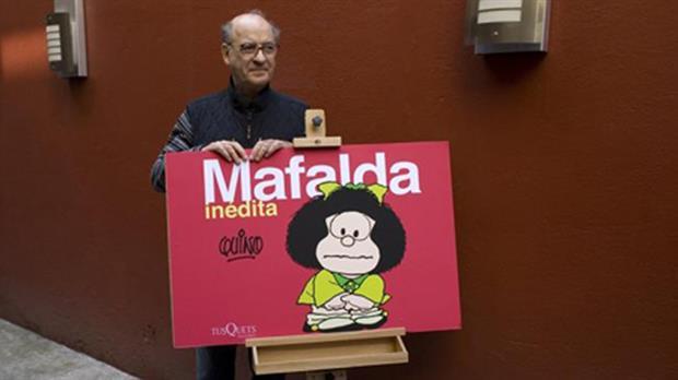 Quino, il papà di Mafalda, compie 85 anni