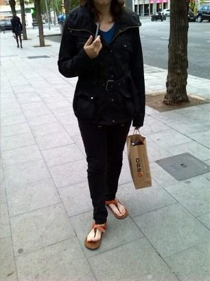 LightRun Sandals 5dedos huaraches urbano asfalto