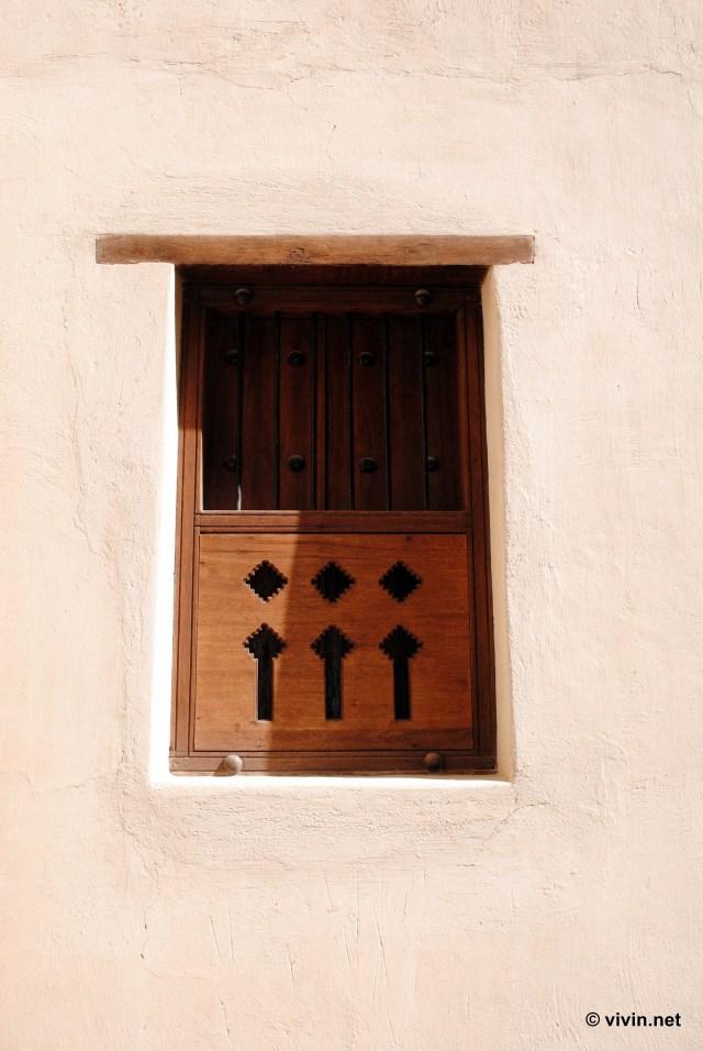 Window in Nizwa Fort