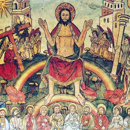 Aww yiss it's Rainbow Jesus! #rainbowjesus