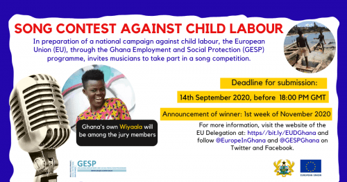 European Union Launches Music Contest Against Child Labour