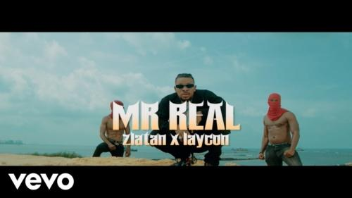 Mr Real – Baba Fela Remix ft. Zlatan, Laycon (Official Video)