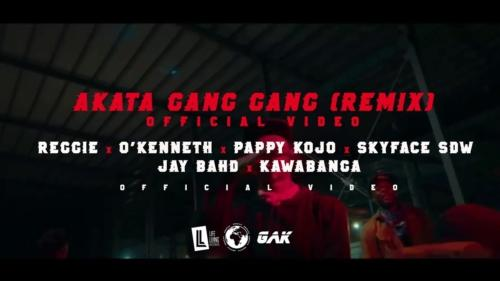 Reggie – AKATA GANG GANG Remix ft O'Kenneth, Pappy Kojo, Skyface SDW, Jay Bahd & Kawabanga (Official Video)