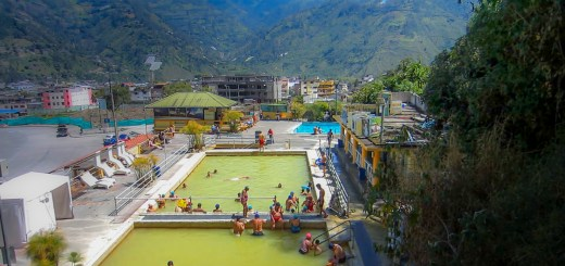 Aguas termales Banos ecuador