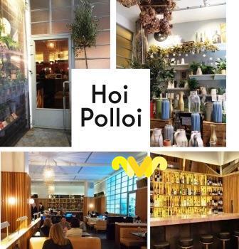 Londres. Brasserie Hoi Polloi.