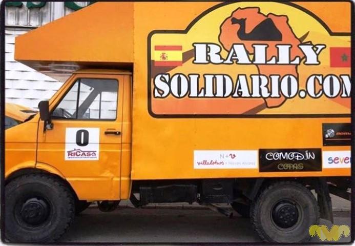 Villalobos y Nieves Alvarez, patrocinador del Rally Solidario Marruecos 2016