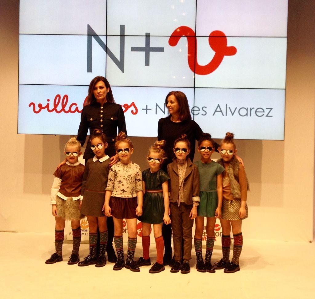 N+V Villalobos Kids más Nieves Alvarez nos presentan la colección otoño-invierno 2016