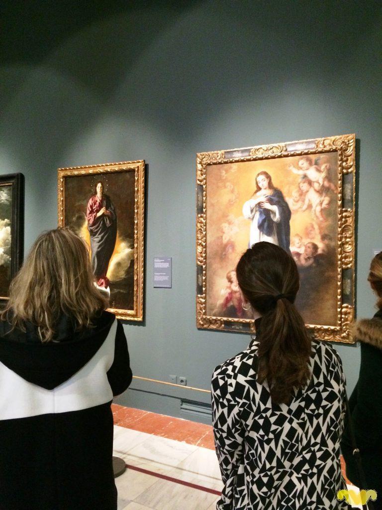 Inmaculadas de Velázquez y Murillo
