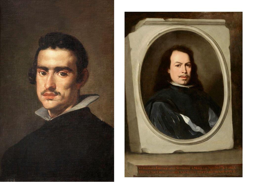 Velázquez y Murillo. Autorretratos