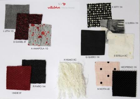 N+V propone cuatro gamas de color, desde el negro combinado con rosas empolvados, pasando por los rojos intensos hasta los grises.
