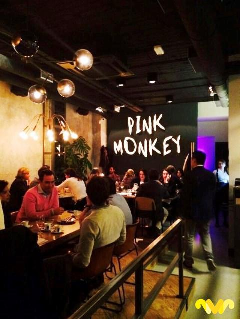 Restaurante Pink Monkey. Madrid