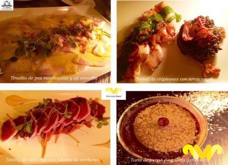 Algunos de mis platos preferidos del restaurante El Perro y La Galleta