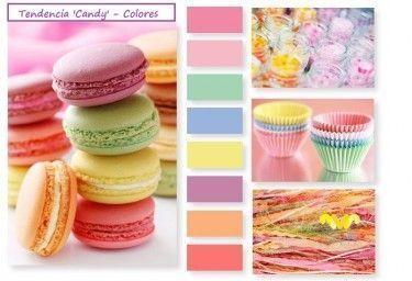 Eliel. Colores de la Tendencia Candy