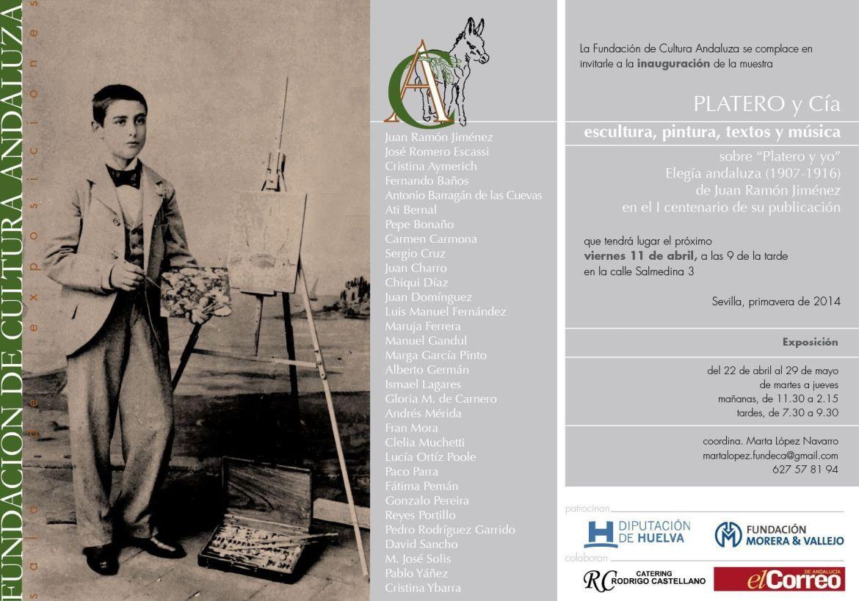 PLATERO Y CIA. Escultura, pintura, textos, música