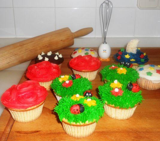 Carmen Moreno. Cupcakes